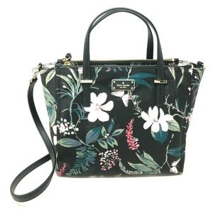 Kate Spade Wilson Road Botanical Shoulder Bag